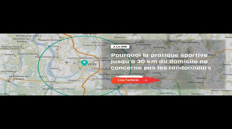 Pourquoi la pratique sportive jusqu'à 30 km du domicile ne concerne pas les randonneurs