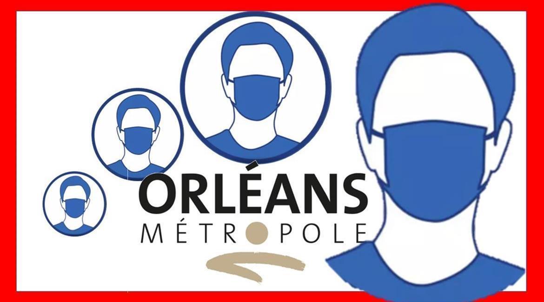 Le préfet reconduit le port du masque obligatoire dans les 22 communes de la métropole d'Orléans