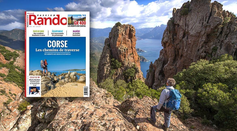 La Corse, destination estivale du magazine Passion Rando